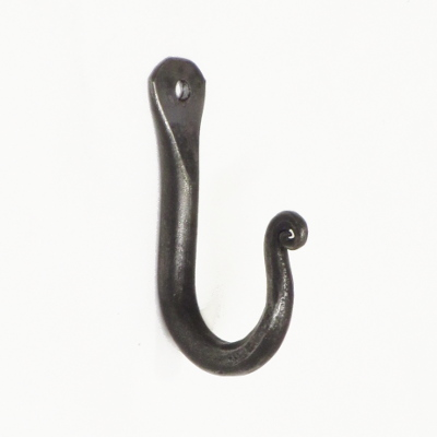 Hand Made Chunky Wrought Iron Hook
