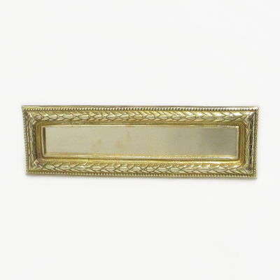 Brass Regency Letter Box Cover