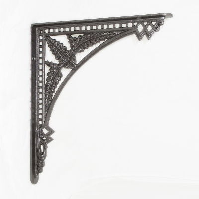 Cast Iron Fern Shelf Bracket