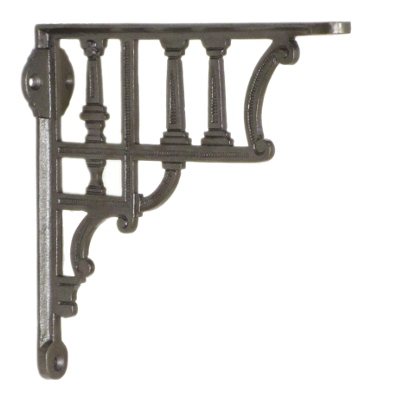 Cast Iron Column Railway Shelf Bracket