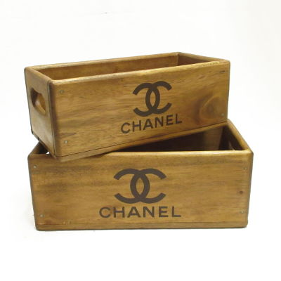 Chanel Wooden Box
