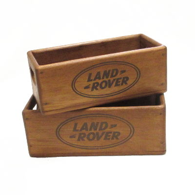 Land Rover Wooden Box
