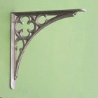 Medium Cast Iron Gothic Shelf Brackets