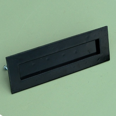 smooth black letter plate - Letter Box Covers