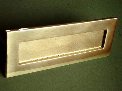 Letter Box Covers Brass Nickel Chrome And Black Letter